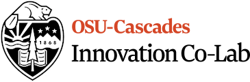 OSU-Cascades Innovation Co-Lab Logo
