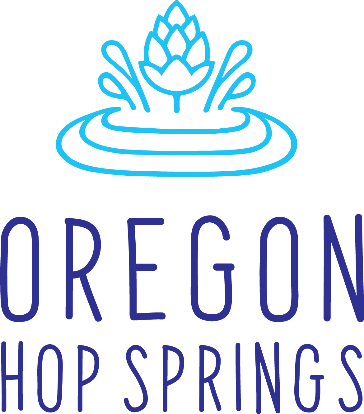 Oregon Hop Springs Logo